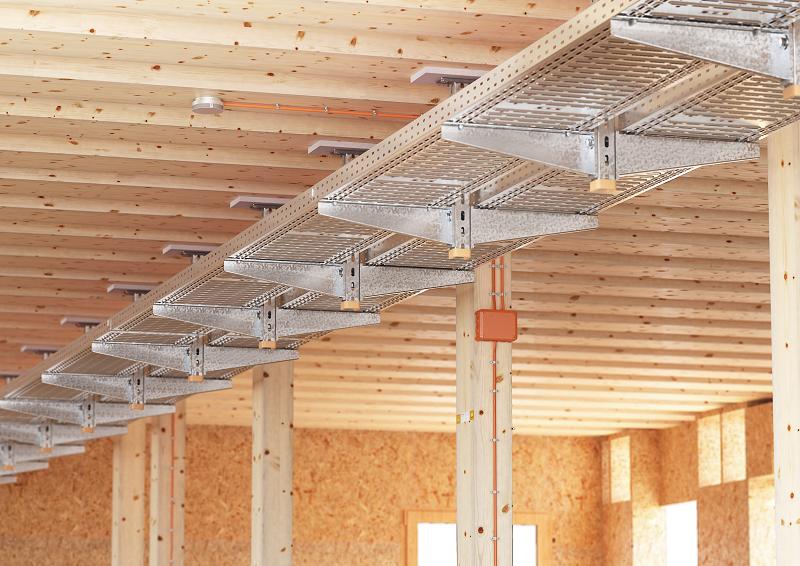 Häufig Funktionserhalt an Holzbauteilen sicherstellen | OBO YX73