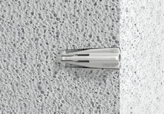 Dübel für gasbeton