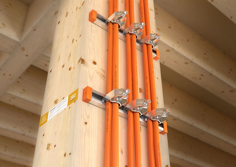 Super Funktionserhalt an Holzbauteilen sicherstellen | OBO DG03