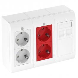 Modul 45® Geräteinstallationslösungen für Aufputz und Unterputz