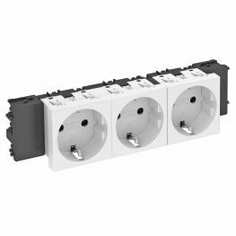 Modul 45connect® Steckbare Installationslösungen für Geräteeinbaukanäle und Installationssäulen