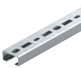 Profilschiene CMS3518, Schlitz 17 mm, FS, gelocht