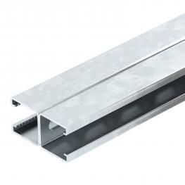 Montageschiene MS4182, Schlitz 22 mm, doppelt, gelocht FS (FT/A2)