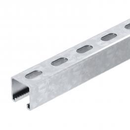 Montageschiene MS4141, Schlitz 22 mm, gelocht FS (FT/A4)