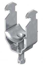 Bügelschelle, 1-fach Metalldruckwanne, FT