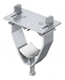 Bügelschelle, U-Fuß 3-Einleiteranschluss