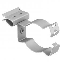 Trägerklammer, für Rohre, geschlossen/seitlich