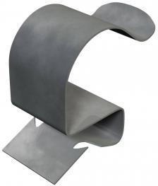 Trägerklammer, für Rohre, offen/seitlich