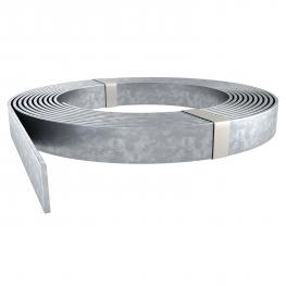 Flachleiter Stahl, verzinkt