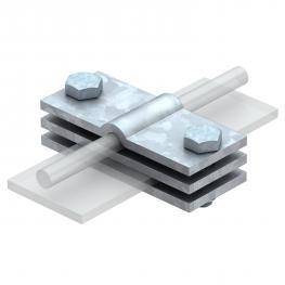 Erdanschlussklemme für Rundleiter und Flachleiter FT