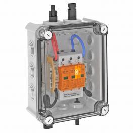 PV-Systemlösung Typ 1+2 mit MC4-Stecker für WR mit 1 MPP-Tracker, 900 V DC