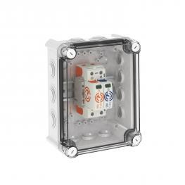 Systemlösung Überspannungsableiter V20 im Gehäuse, 1-polig + NPE 280 V