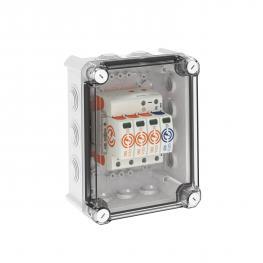 Systemlösung Überspannungsableiter V20 im Gehäuse, 3-polig + NPE 280 V