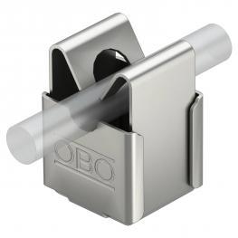 Leitungshalter für Rd 8 mm, Durchgang Ø 5 mm