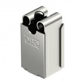 Leitungshalter erhöhte Bauart für Rd 8 mm, Durchgang Ø 5 mm