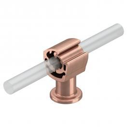 Leitungshalter Rd 8-10 mm, verkupfert