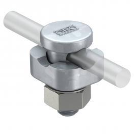 Verbinder Rd 8-10 mm, 1fach
