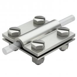 Kreuzverbinder für Rund- und Flachleiter A4