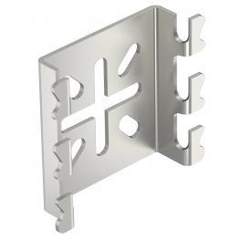 Montageplatte für Gitterrinne A4
