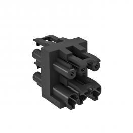 Verteilerblock 3-polig, 1 Eingang / 3 Ausgänge