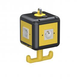 HoverCube VH-4, 4 x Erdungstift-Steckdose