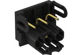 Modul 45connect® Steckerteil-Adapter, schwarz