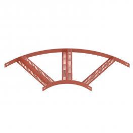 90°-Bogen mit Z-Sprosse SG