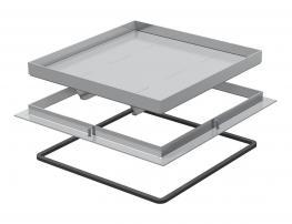 Rahmenkassette Schwerlast, blind, RKSL, Nenngröße 350-3, Belastungsklasse 1