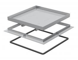 Rahmenkassette Schwerlast, blind, RKSL, Nenngröße 250-3, Belastungsklasse 1