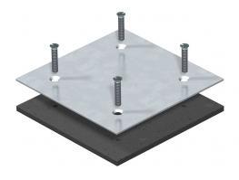 Blindplatte für Montageöffnung Telitank