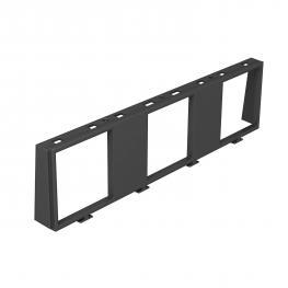 Einbaurahmen für drei 1-fach Modul 45®-Geräte