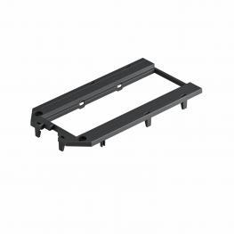 Abdeckplatte für Universalträger UT4, Modul 45®-Einbauöffnung