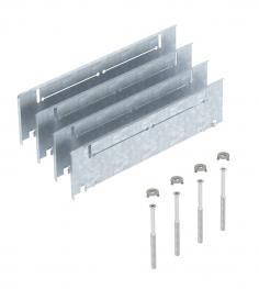 Höhenausgleich-Bausatz für UZD/UGD250-3 mit Höhe 70-125 mm