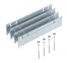 Höhenausgleich-Bausatz für UZD/UGD350-3 mit Höhe 70-125 mm