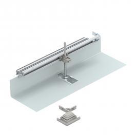 Bausatz für Winkelabzweig nach rechts, Höhe 40-150 mm