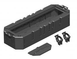 Modulträger mit Schutzgehäuse für Modul 45®-Geräte, Systemlänge 208 mm
