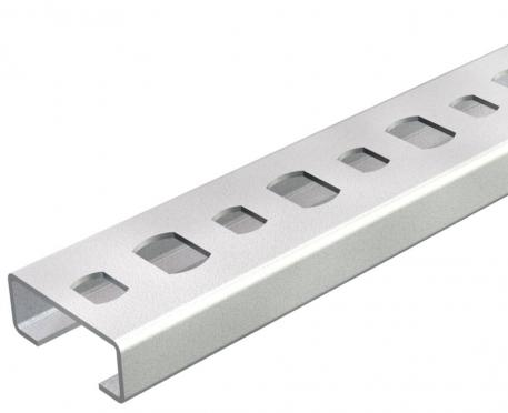 Profilschiene CL2008, Schlitz 11 mm, gelocht