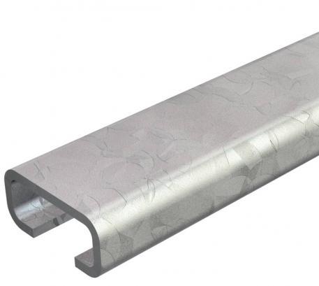 Profilschiene CL2712, Schlitz 12 mm, ungelocht