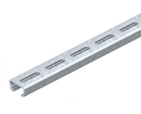 Ankerschiene AMS3518, Schlitz 16,5 mm, gelocht