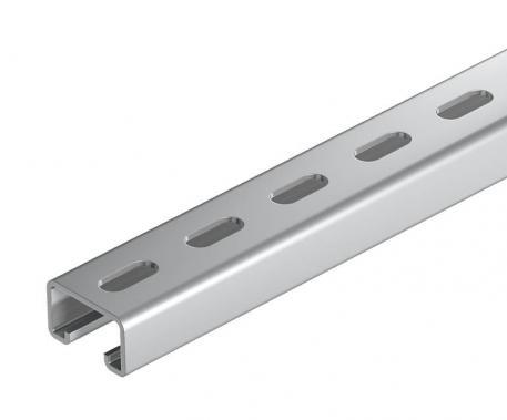 Montageschiene MS5030, Schlitz 22 mm, A4, gelocht