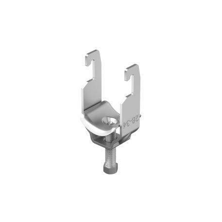 Bügelschelle, 1-fach Metalldruckwanne A4