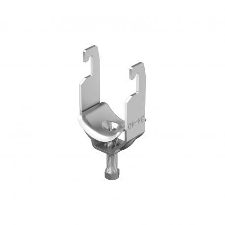 Bügelschelle, 1fach Metalldruckwanne A4