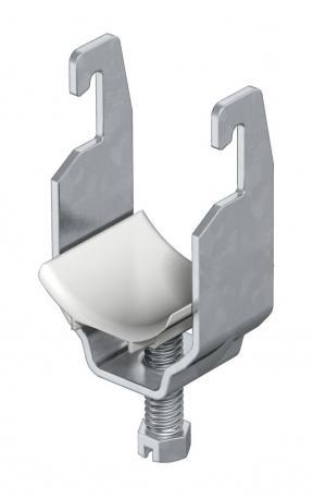 Bügelschelle, 1-fach Kunststoffdruckwanne FT