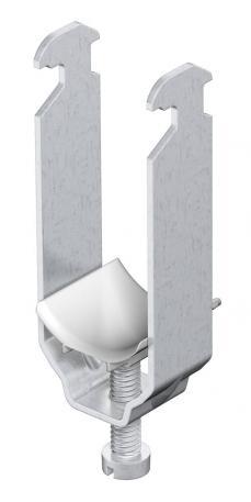 Bügelschelle, 2-fach Kunststoffdruckwanne ALU