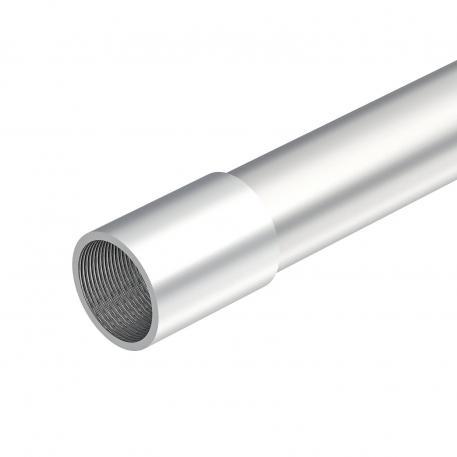 Aluminiumrohr, mit Gewinde
