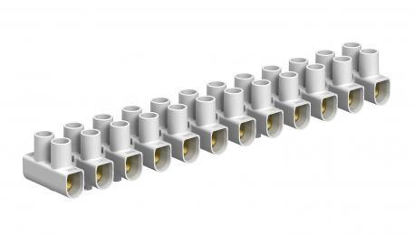 Reihenlüsterklemmen 6 mm², Polypropylen