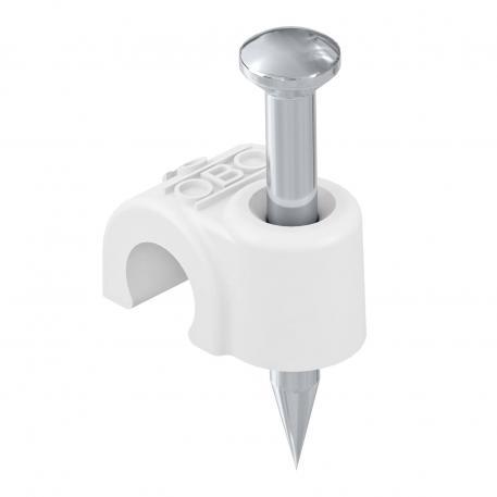 ISO-Nagel-Clip Typ 2006, reinweiß