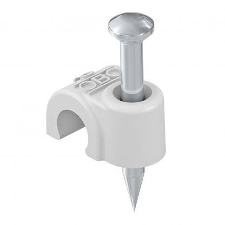 ISO-Nagel-Clip Typ 2006, lichtgrau