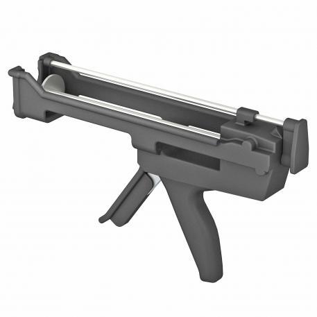 Auspresspistole für Standard-Kartuschen und Side-by-side-Kartuschen