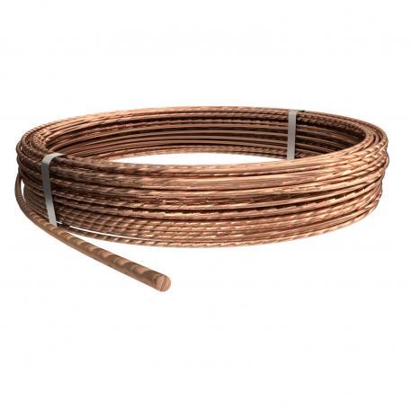 Seile Kupfer und Kupfer, verzinnt